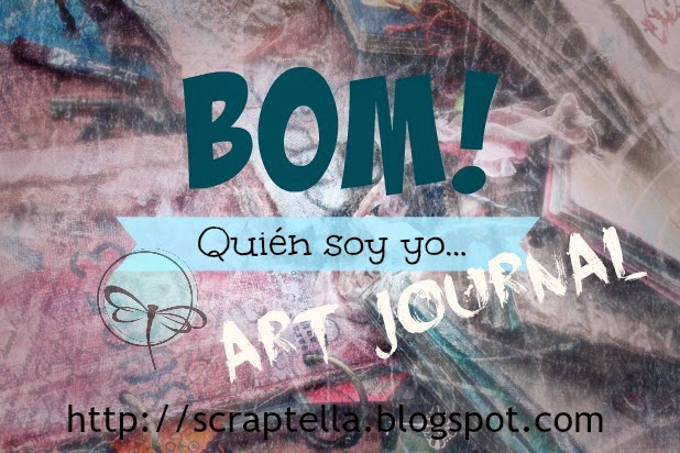 Participo en  BOM Art Journal con Stella
