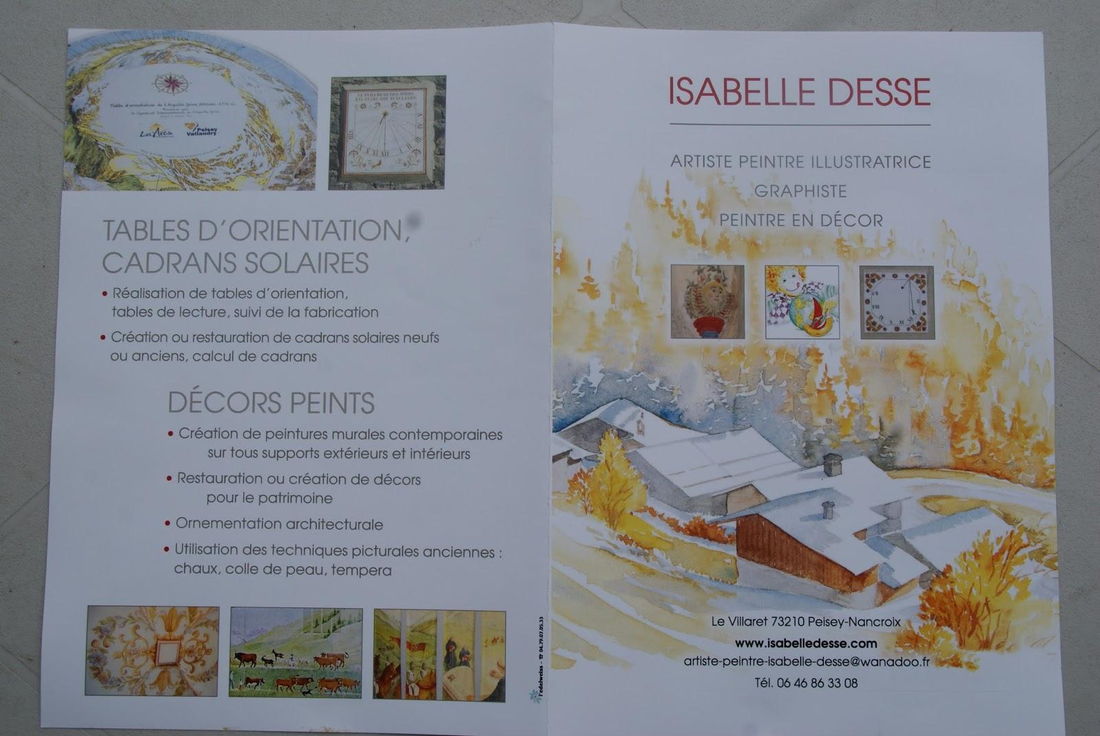 """Résultat de recherche d'images pour """"Isabelle Desse, artiste peintre en Savoie"""""""
