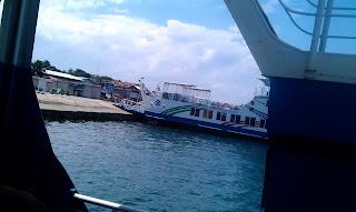 Ferry Boat to Samal Island Davao