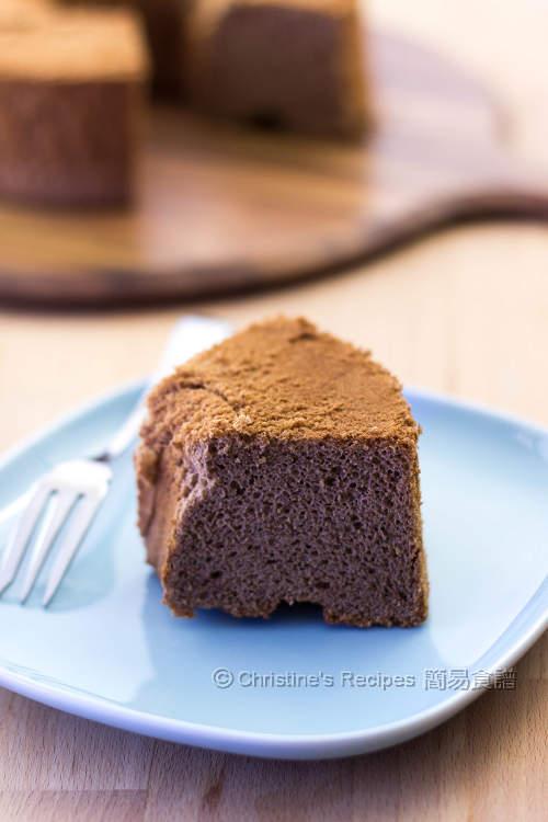 Chocolate Chiffon Cake03