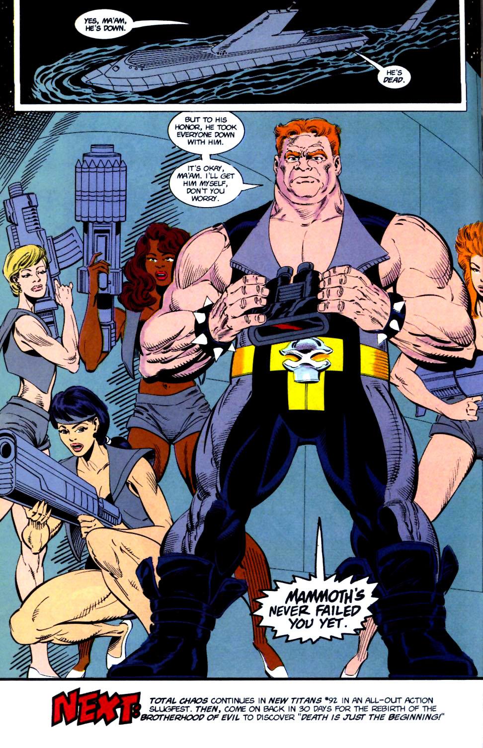 Deathstroke (1991) Issue #16 #21 - English 25