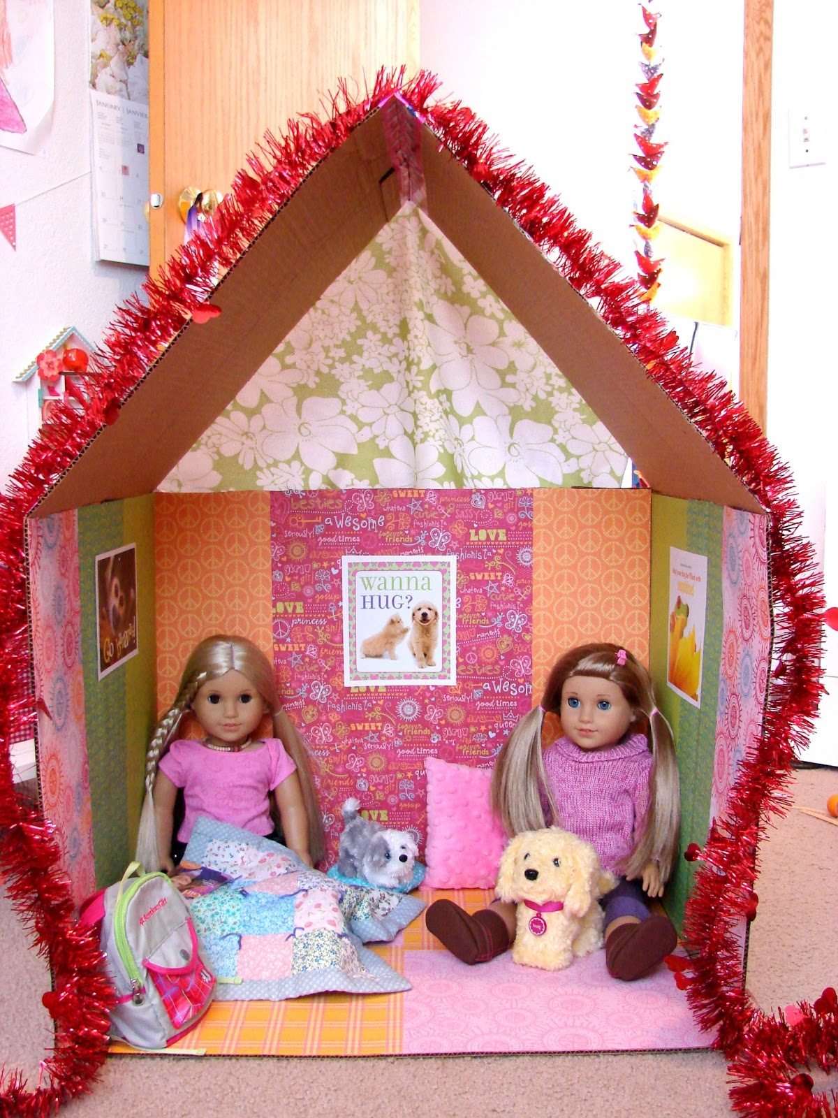 American girl doll play doll craft make a clubhouse for your dolls lately i find myself pinning doll craft ideas for when i have some time on my hands with zoey for us to create a little something solutioingenieria Images
