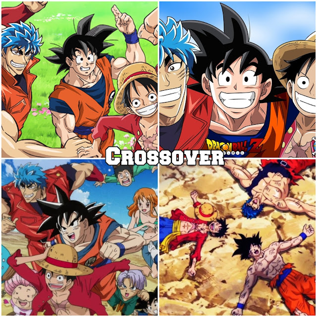 Crossover Dragon Ball Z X One Piece X Toriko