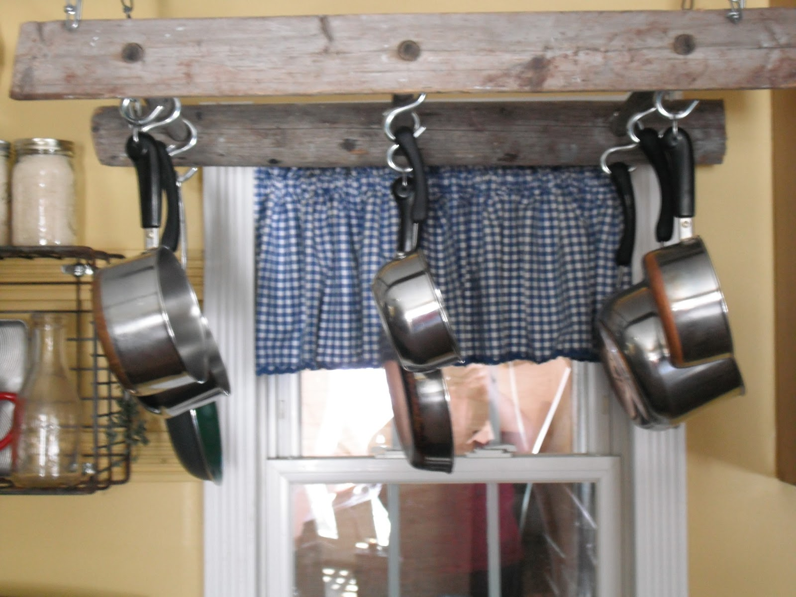 Little Cottage in the Country: Making A Pot Rack From A ...