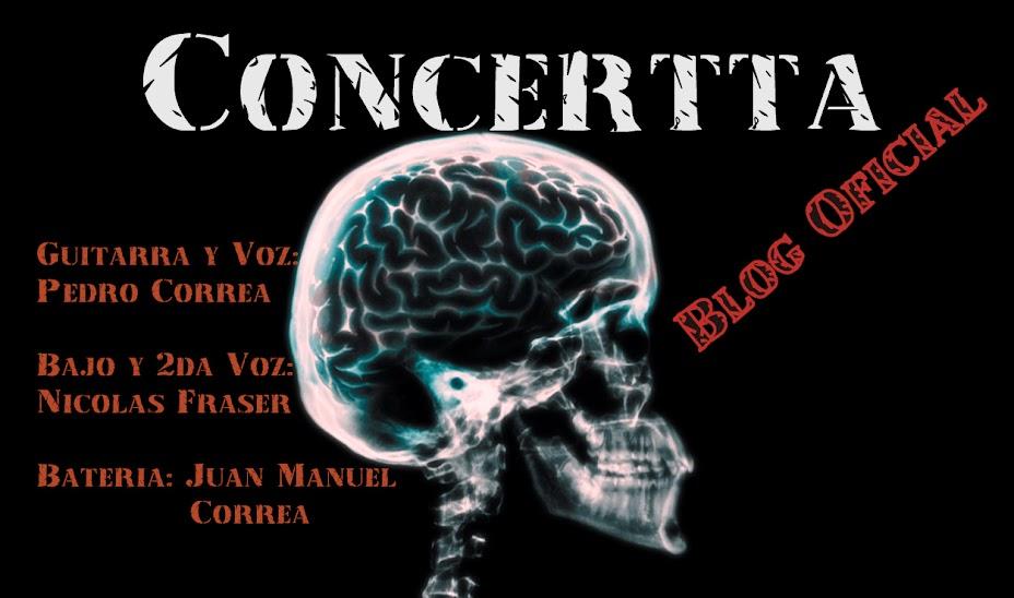 Blog Oficial de Concertta - Todos los derechos reservados
