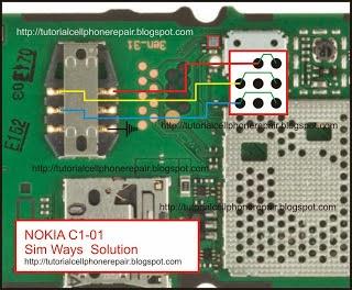 nokia c1 01 sim ic jumpers ways with diagram help gsmfixer rh gsmfixer blogspot com  nokia c1-01 light circuit diagram