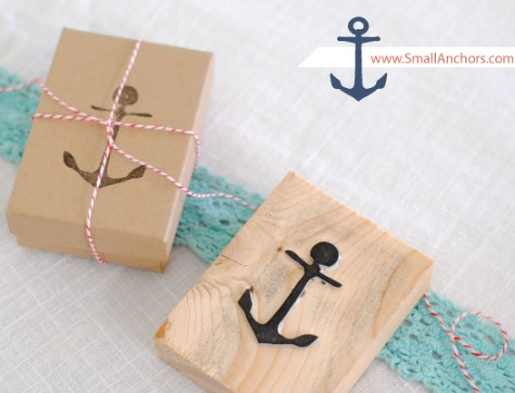 How to Make Anchor Stamp