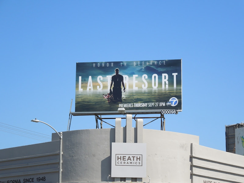 Last Resort billboard
