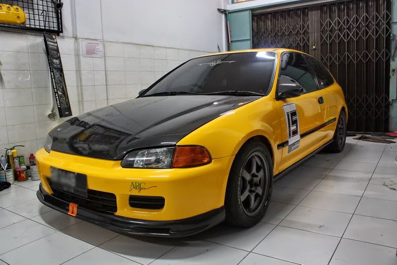 Modifikasi Honda Civic Estilo 94