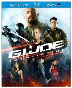 G.I. Joe: Retaliation on blu-ray