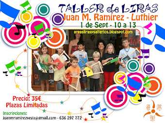 CARTEL TALLER DE LIRAS