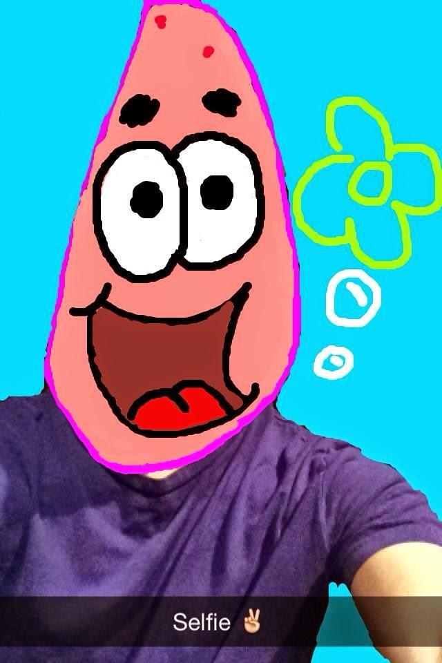 Snapchat doodles
