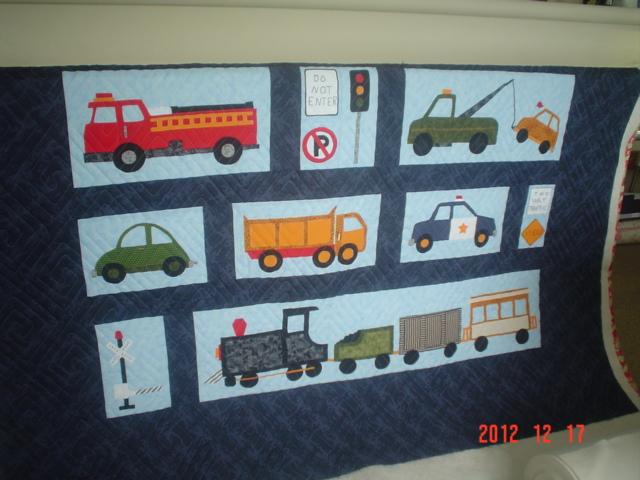 myquilter: Transportation quilt : transportation quilt - Adamdwight.com