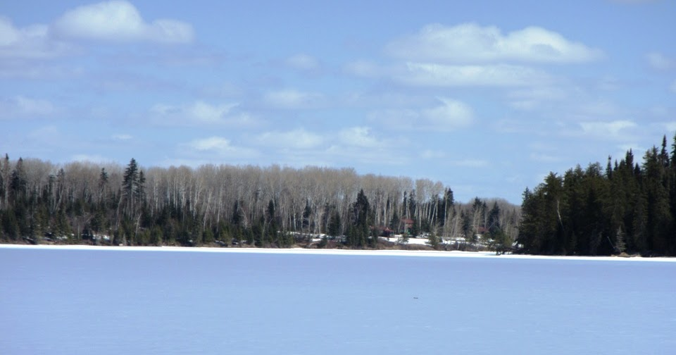 Bow narrows camp blog on red lake ontario spring scenes for Red lake ice fishing resorts
