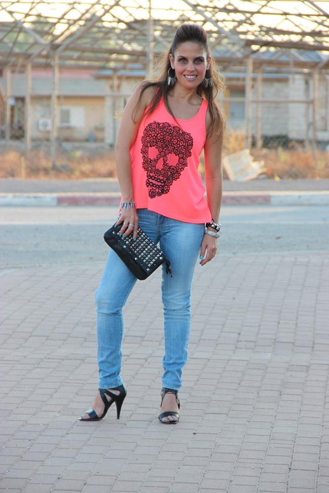 בלוג אופנה Vered'Style הגולגולת האופנתית שלי