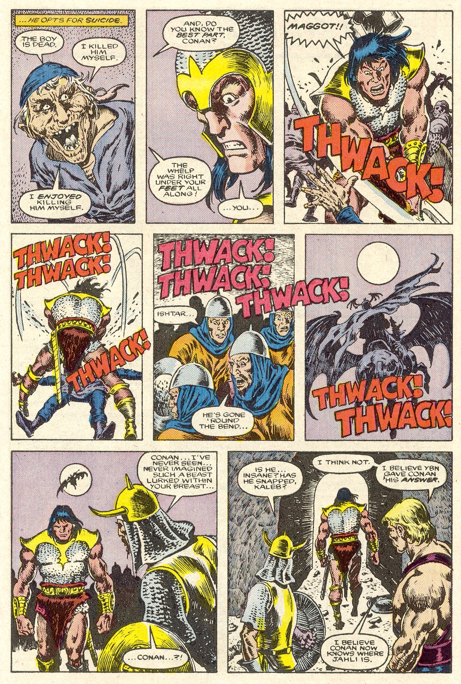 Conan the Barbarian (1970) Issue #188 #200 - English 21