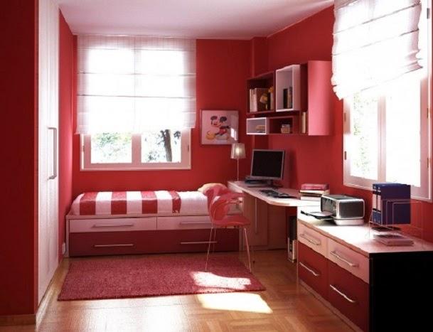 Desain kamar tidur anak perempuan 5