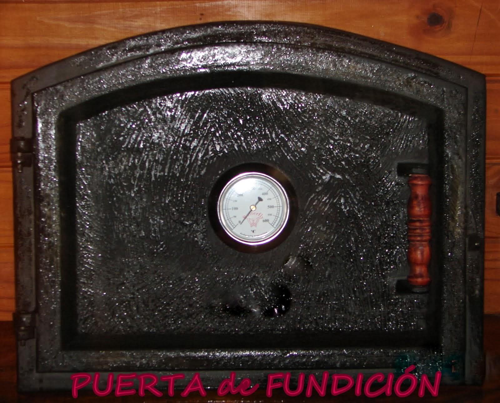 PUERTA de FUNDICIÓN