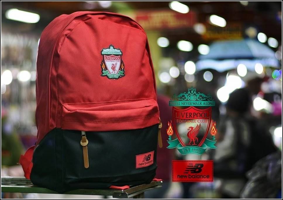 New Backpack atau Tas Bola Type D Liverpool