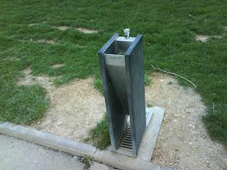 fuente en el Parque de Plaza zaragoza