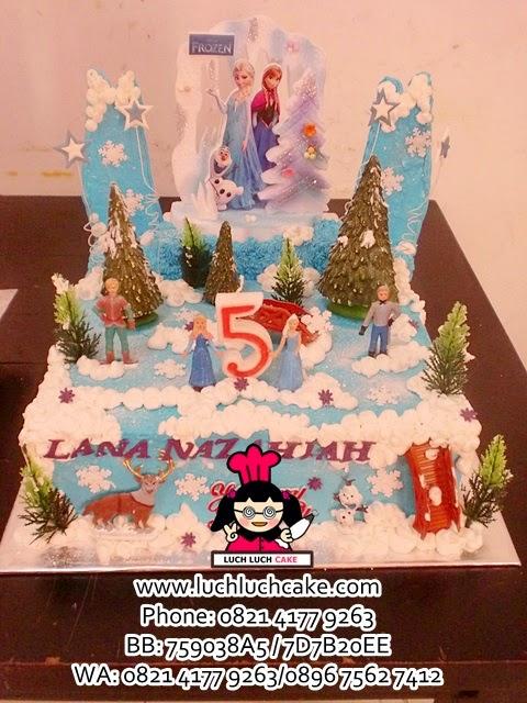 Kue Tart Buttercream Frozen Daerah Surabaya - Sidoarjo