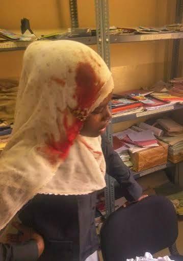 police attack students eksu