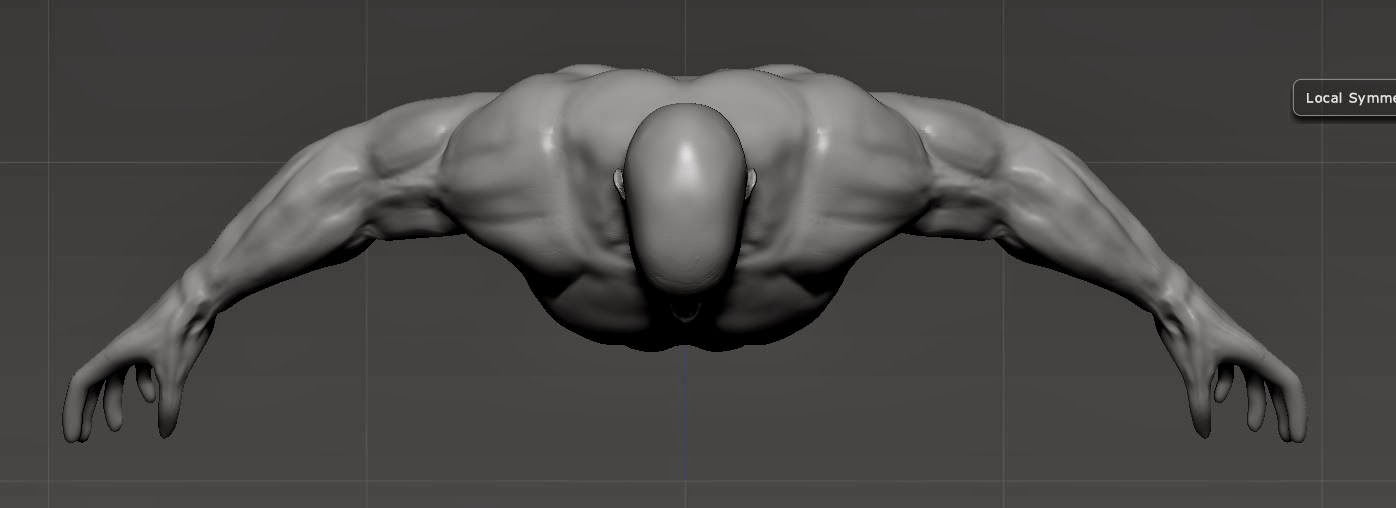 Human Anatomy In Zbrush October 2013