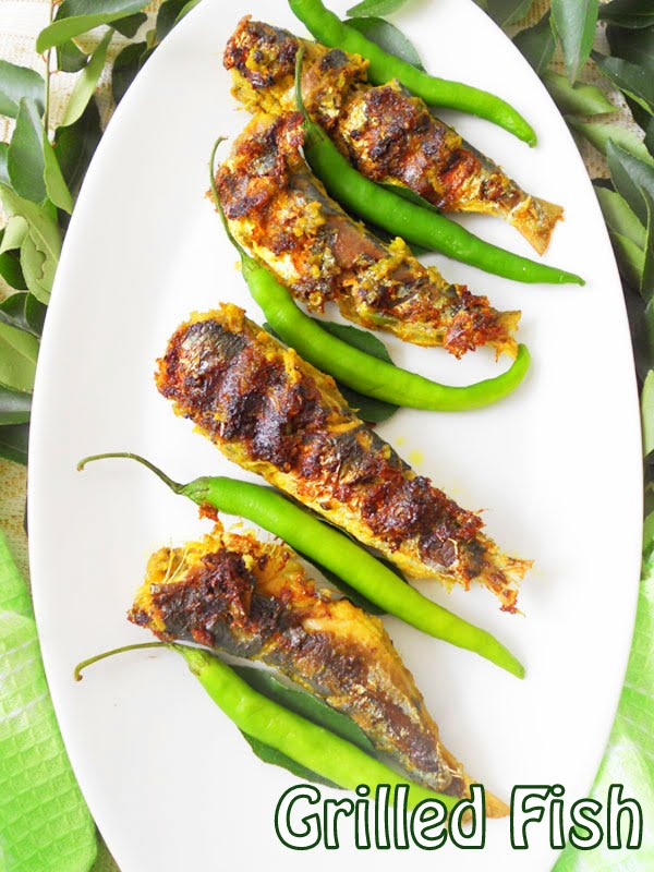 Grilled fish recipe kerala style green chilli masala cooking grilled fish recipe kerala style green chilli masala cooking is easy forumfinder Images