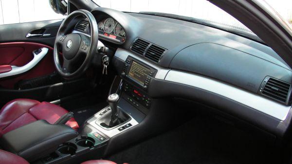 E46 M3 Motoring 2004 Bmw M3 E46 Black Imola Red Interior 24500