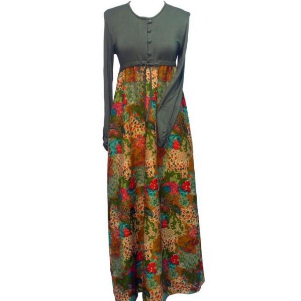 Baju gamis knitting gallery Baju gamis couple online