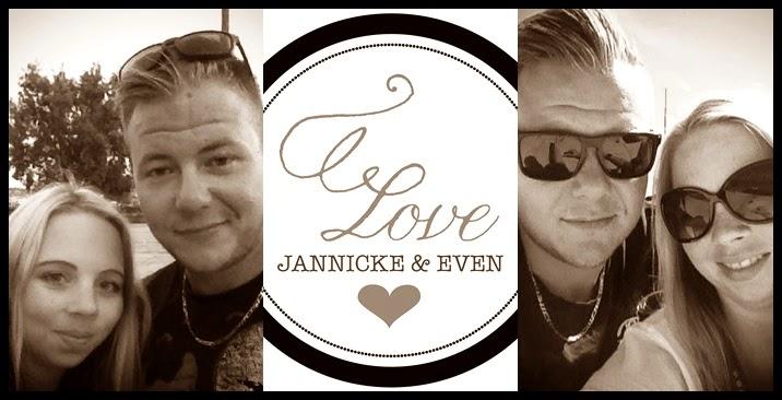 Jannicke og Even's bryllup 20.juni 2015