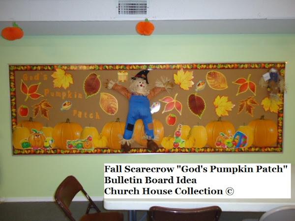 Fall Sunday School Bulletin Board Ideas
