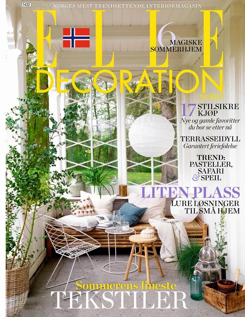 Svenng rden vinneren av et abonnement p elle decoration - Elle decoration abonnement ...