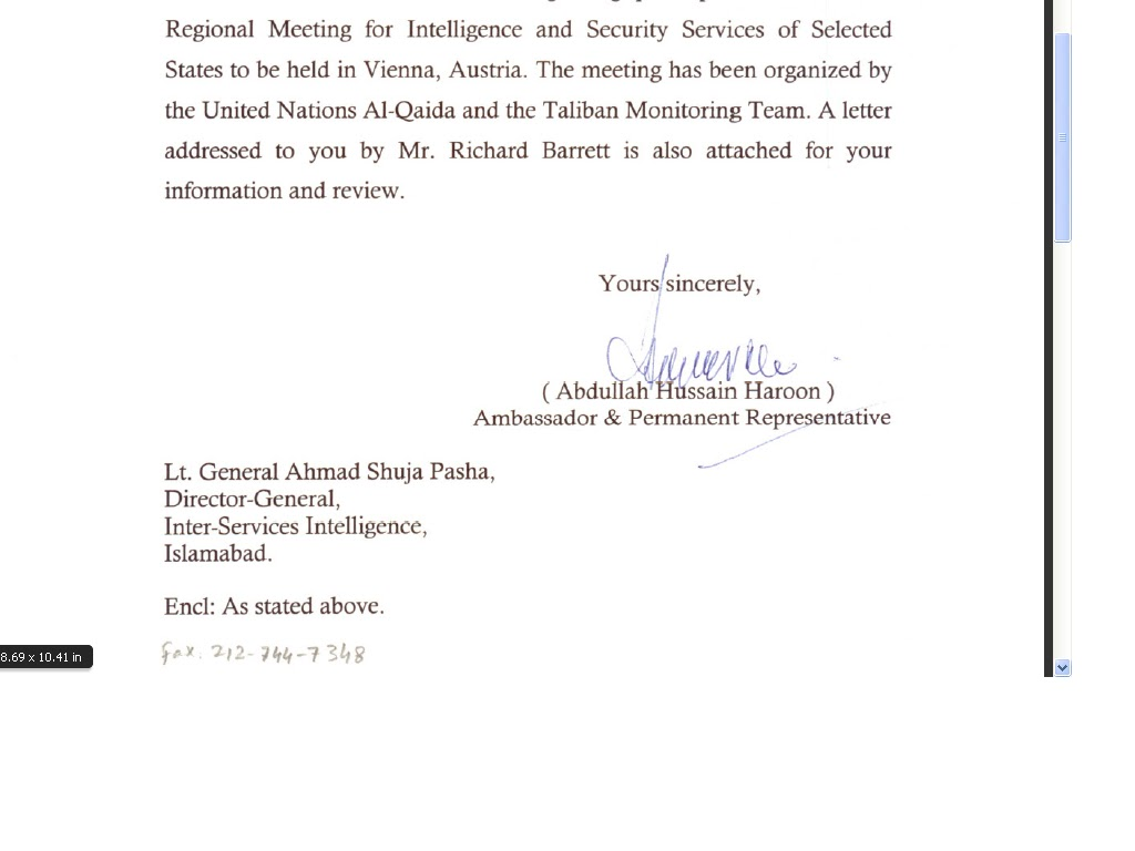 Isi Chief Ahmed Shuja Pasha Email Id Hacked By Indian Hacker