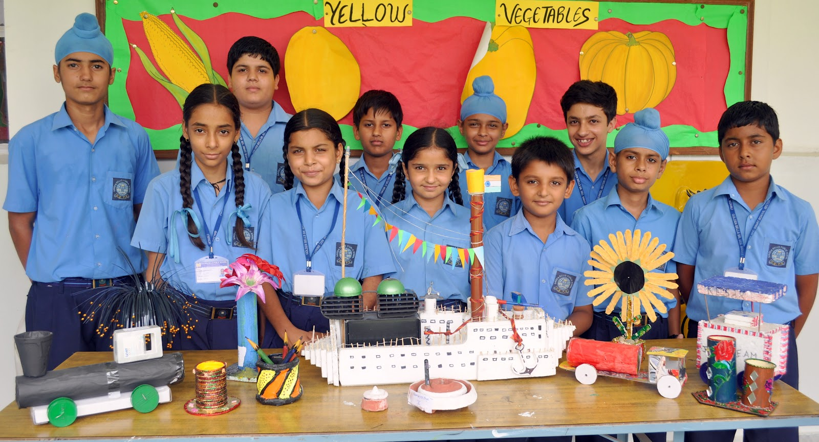 Easy crafts explore your creativity best out of waste ideas - Best Out Of Waste Competitions At Golden Bells