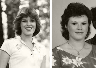 Retro Gran 1980 decade of hairstyles