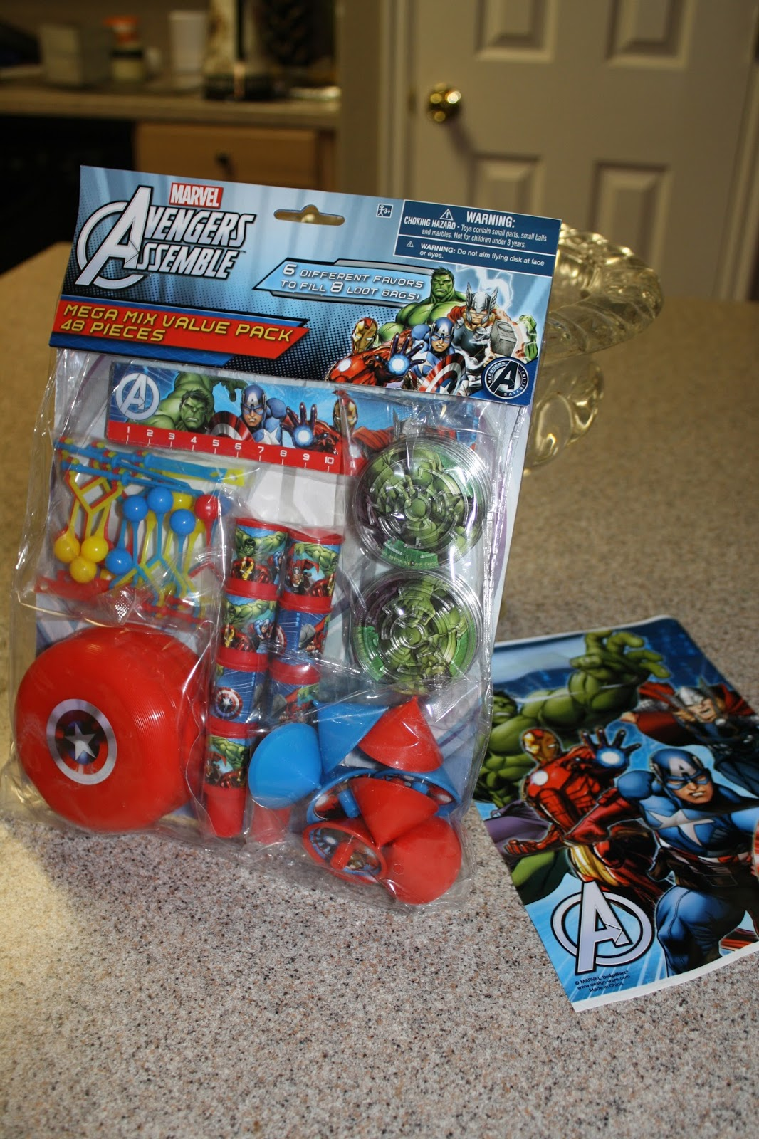 Step Four I Grabbed A Mini 8 Oz Avengers Cup That Put In The Goody Bag Know Kids Are Constantly Using Cups And These Plastic Ones Perfect