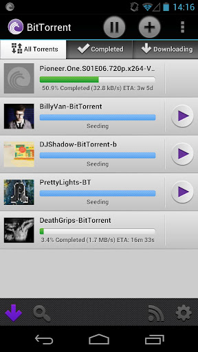 bittorrent, free download, android,