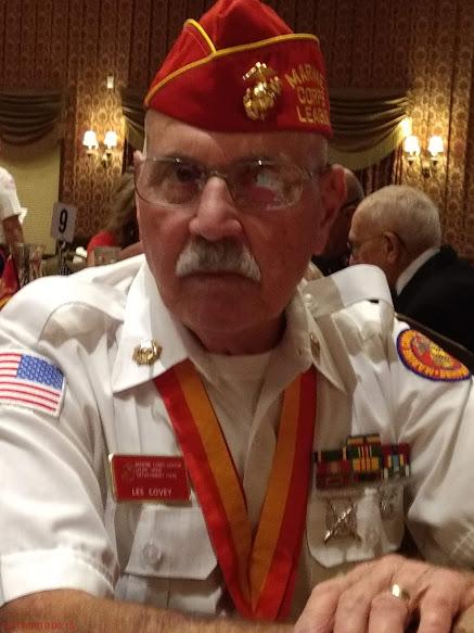 Marine Sgt. Les Covey, Assistant Liaison Rep