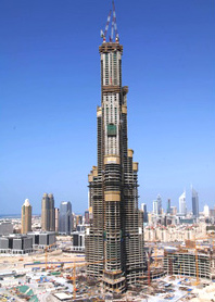 Burj Dubai Tallest Tower in the World