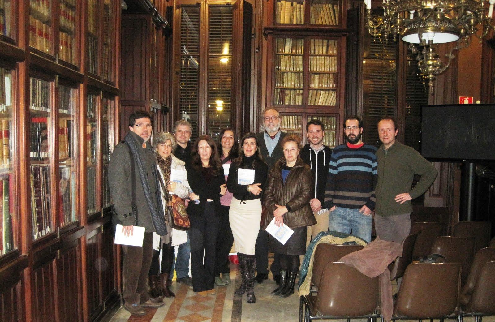 Tras la presentación del Libro Viaje Mágico Hermético a Andros