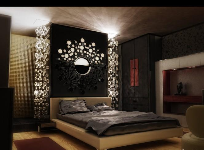Bedroom designs luxury bed room design interior for Bedroom curtains designs in pakistan