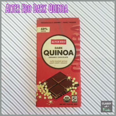 Classy with a Kick: Alter Eco Dark Chocolate Quinoa