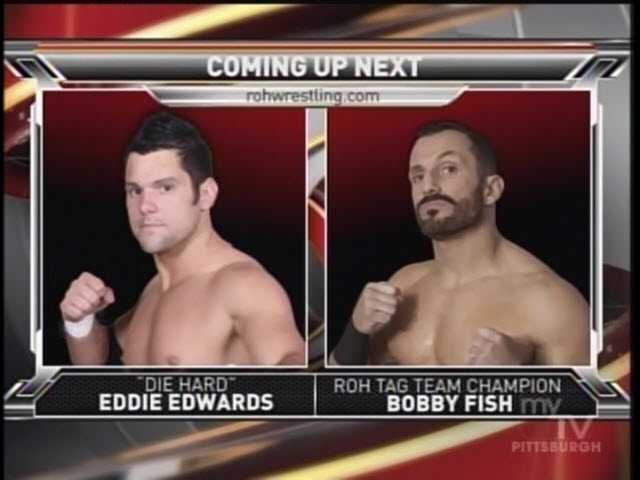 Prowresblog ring of honor tv 4 13 2013 results and review for Fishs eddy coupon