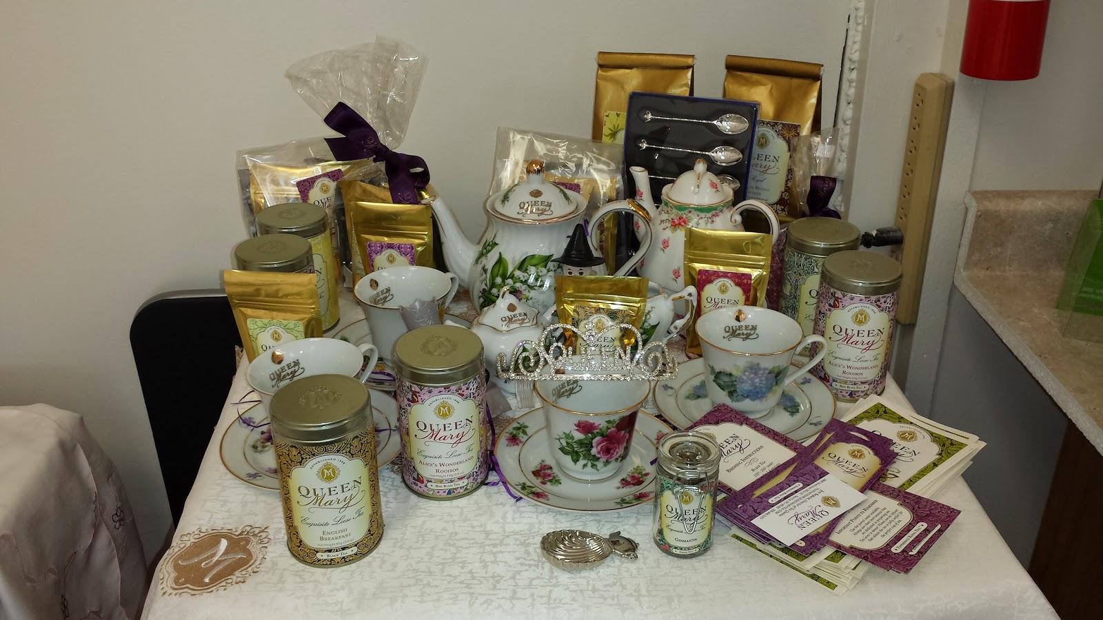 Queen Mary teas- tea party