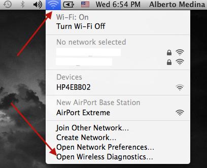 Herramienta de Diagnostico Wireless