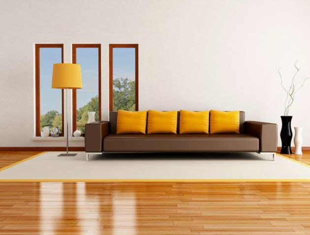 Parquet Living Room Flooring Ideas