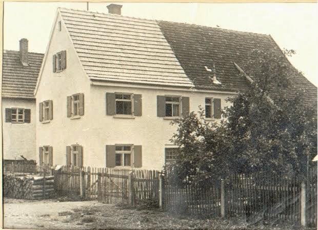 Unser Haus vor vielen Jahren