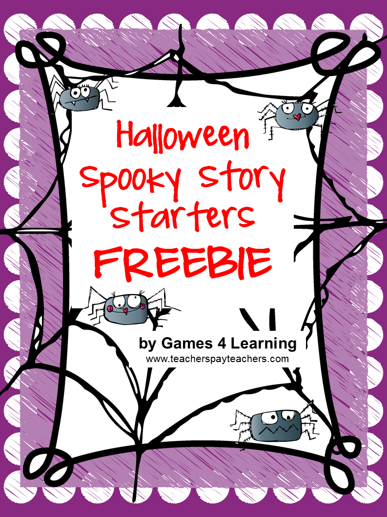 halloween story starters This printable word processing lesson provides a creative writing activity students use story starters to type complete stories on the computer.