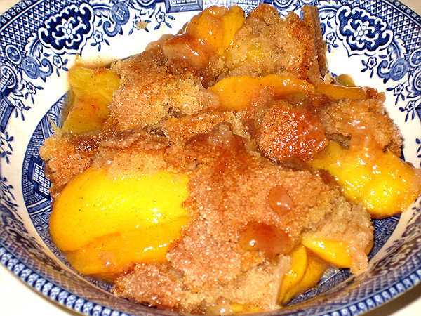 Southern Peach Cobbler Recipe — Dishmaps
